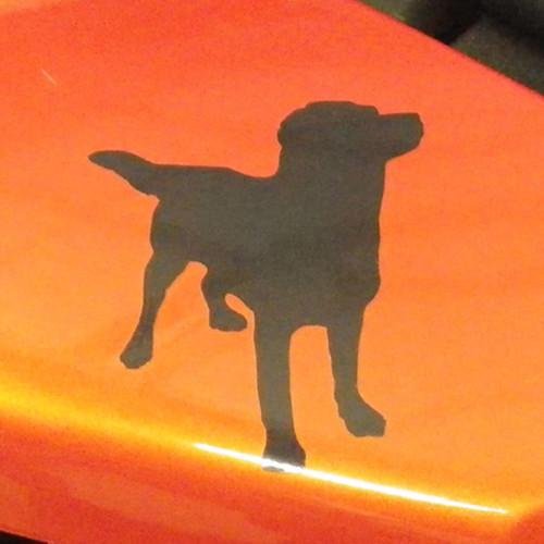 BDCW - Decal - BDCW Dog (reflective/small)