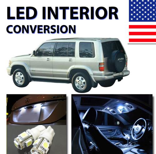 led interior kit for acura slx 1996 1999 ledcarkit com rh ledcarkit com 1999 Acura SLX Interior 1999 Acura SLX Interior