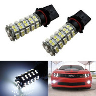 5W 68-SMD P13W LED Daytime Fog Lights Bulbs (Fits Chevy Camaro w/HID)