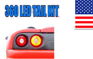 LED Stop Light & Backup & Sidemarker Upgrade Kit for Ferrari 360 Modena 1999-2004 by Equinox