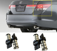 LED Tail Light Bulb Upgrade for Honda Accord 4D 2008-2012 (4pcs Stop Brake Back)