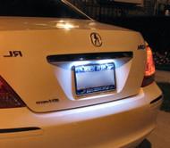 LED License Plate Bulbs for Honda