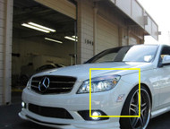 2x LED Front Parking for Mercedes C Class W204 2012