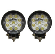 27W Equinox Round LED Work Light Lamp Off Road High Power 30 Degree Spot Light