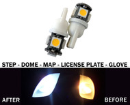 LED License Plate Bulbs For Volvo
