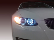 Equinox LED H8 Angel Eyes Lights for Select BMW Models (White)