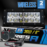 Equinox 36W LED Light Bar w/ 12V Wireless Controller