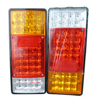 2 x Equinox 24V Bus, Trailer or Truck LED Tail Lights