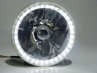 "Pair of Equinox 7"" Round Halo Ring Headlights (6014, H6024, 6012/6014/6015)"