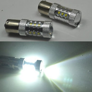 2 X 1156 Equinox CREE 80W High Power Stage 4 LEDS for Turn Signal Brake Reverse