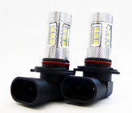 2 X H9 Equinox CREE 80W High Power Stage 4 LED Fog Lights
