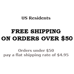 US Residents - FREE SHIPPING ON ORDERS OVER $50