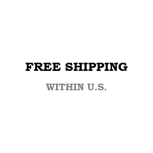 FREE SHIPPING WITHIN U.S.