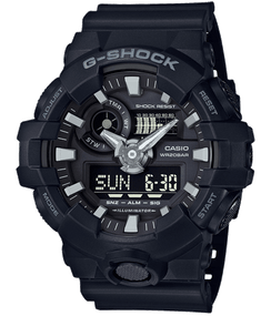 Casio G-shock Ana-Digi Super Illuminator Black/Black GA700-1B