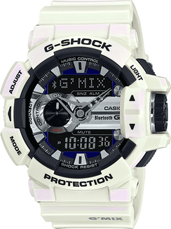Casio G-Shock G'Mix Rotary Switch Bluetooth LE GBA400-7C