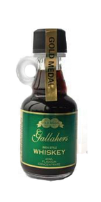 Gold Medal Gallahers Irish Whiskey - Glass