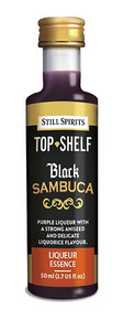 Top Shelf Black Sambuca