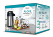 We have combined our highly popular Air Still with the 10 L Companion Pack, and Fermentation Kit into one complete box to simplify the offering, making it even easier for those new to distilling to get into the hobby quickly and easily.   The Air Still Mini Distillery Kit contains everything you need to distil water,  essential oil (minus the botanicals) and up to 2 L of vodka. Packaged in an  attractive Still Spirits designed box.  ABOUT THE AIR STILL This compact and sleek stainless steel Air Still is designed for alcohol, water and oil distillate. The Air Still is extremely easy to use, requires no water and is powered by electricity making it great to use in your kitchen, boat, or campervan. Perfect for distilling small quantities at one time.   Suitable for new distillers, no experience required!   Kit includes:  • Air Still • 10 L Fermenter with Thermometer • Carbon Filter System with Spirit Collector • Mixing Spoon • Distilling Conditioner • Boil Enhancers  • Air Still Fermentation Kit (Turbo Yeast & Nutrients,Turbo Carbon, Turbo Clear for making a wash) • 2 x Flavoured Vodka Essences (for flavoured water or vodka) • Hydrometer • Instructions   REVIEWS   see more reviews