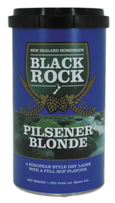 Black Rock Pilsner Blonde Beerkit 1.7kg