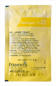 Saflager Yeast S-23 Item Code 40712