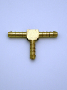 Brass T Piece 6 mm