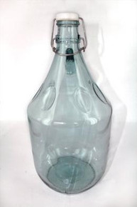 5 Litre Glass Demijohn