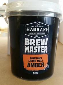 Brewmaster Muntons Liquid Malt Amber 1.8Kg