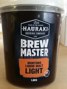 Brewmaster Muntons Liquid Malt Light 1.8Kg