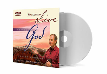 DVD LIVE Album - Knowing God