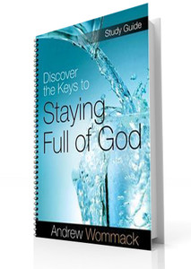 Study Guide - Discover The Key To Staying Full Of God