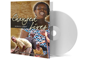 DVD Album - Changed Lives - Africa 2009