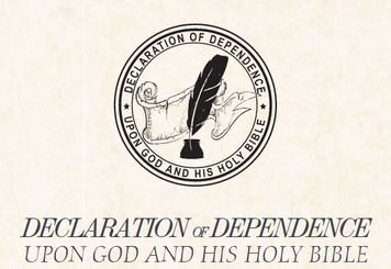 Declaration of Dependence - Parchment