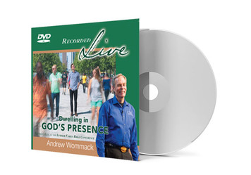 DVD LIVE Album - Dwelling in God's Presence
