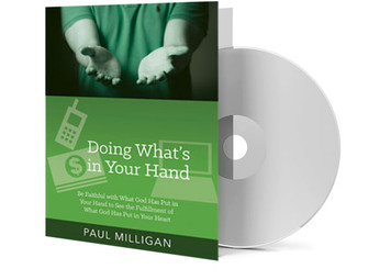 CD - Doing What's in Your Hand - Paul Milligan