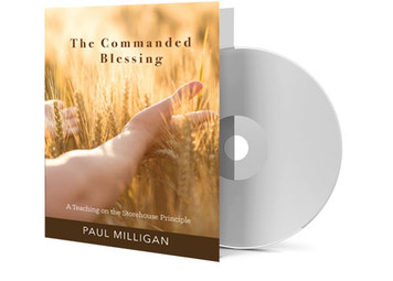 CD - The Commanded Blessing - Paul Milligan