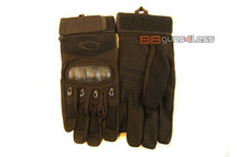 Tactical Gloves with knuckle protection in black