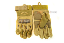 Tactical Gloves with knuckle protection - Olive
