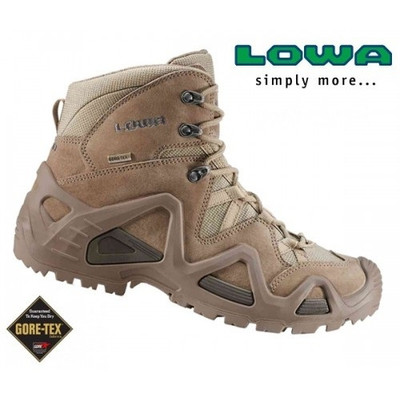 Lowa Zephyr Mid Coyote Boots Gore Tex 174 Lined
