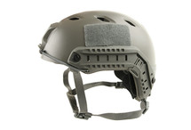 Fast Helmet with Rails inc Extra Internal Padding in green