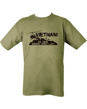 Kombat Vietnam T-shirt in Green
