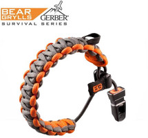 Bear Grylls Survival Series Bracelet in Grey Orange from Gerber