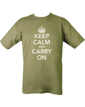 Kombat Keep Calm & Carry On T-shirt