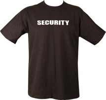 Kombat Security T-Shirt in black