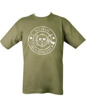 Kombat Taliban Hunting Club T-shirt in Olive Green