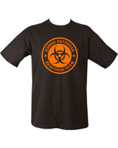 Kombat Zombie Outbreak T Shirt in black