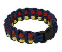 RVOps Survival Bracelet - RM Colours