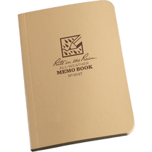 RITR Tactical Memobook Tan