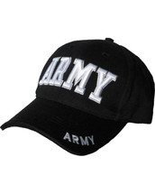Kombat Baseball Cap ARMY in Black