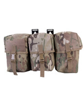 Kombat Triple Utility Pouch in Multicam