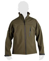 KOMBAT TROOPER - Tactical soft shell jacket (Olive green)
